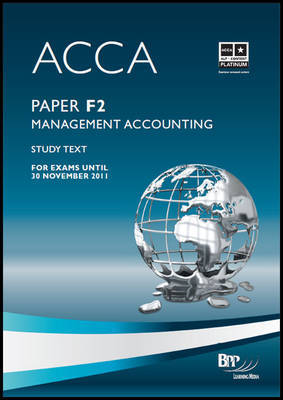 ACCA - F2 Management Accounting: Study Text by BPP Learning Media image