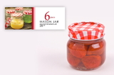 Mason Preserving Jars 250ml (Set of 6)