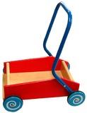 Fun Factory - Push Along Wagon with Metal Handle