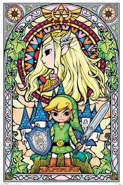 The Legend Of Zelda - Stained Glass Poster (532) image