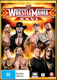 WWE: Wrestlemania 26 on DVD