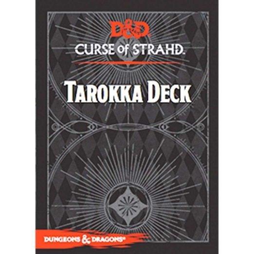 D&D: Curse of Strahd - Tarokka Deck (54 Cards) image