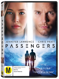 Passengers (2016) on DVD image
