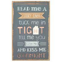 Kiss Me Goodnight 3D Wall Art