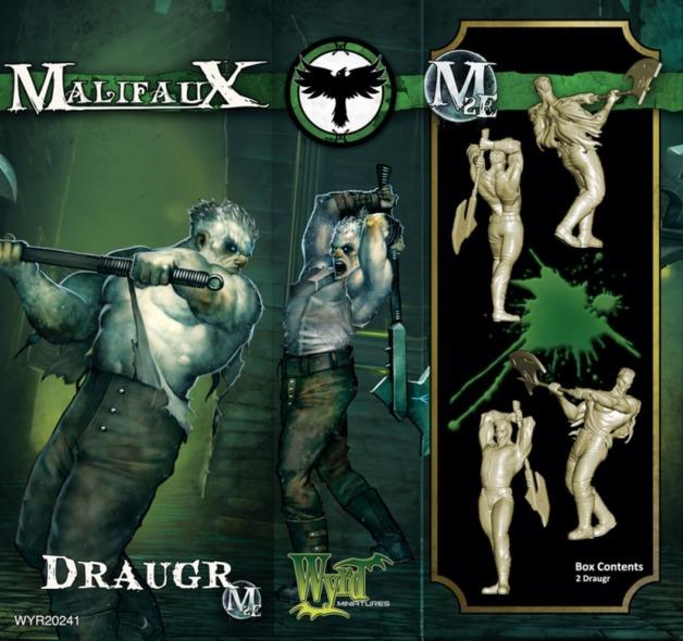 Malifaux: Resurrectionists - Draugr (2pc)