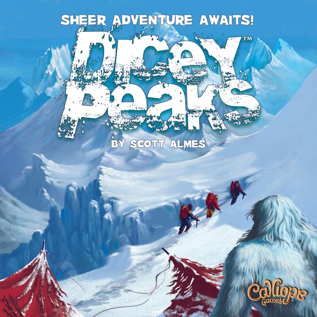 Dicey Peaks - Board Game