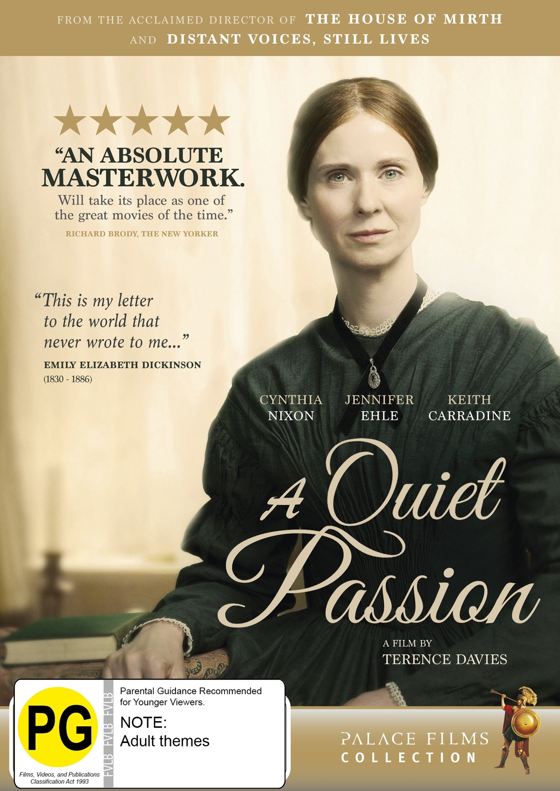 A Quiet Passion on DVD image