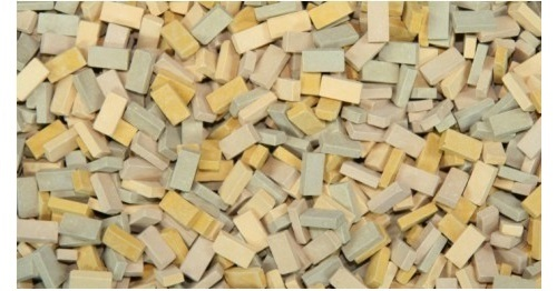 1:48 bricks (RF) beige mix (1,000 pcs.)