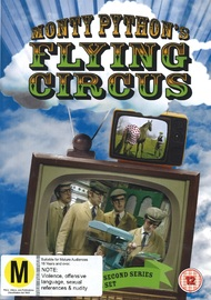 Monty Pythons Flying Circus: Series 2 on DVD