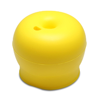 Haakaa: Silicone Round Sippy Top - Yellow