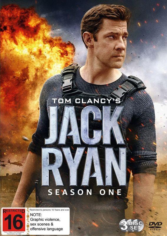 Jack Ryan Season 1 on DVD
