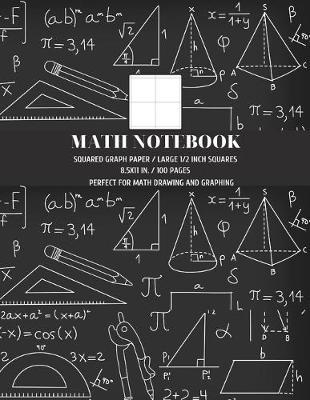 Squared Graph Paper Math Notebook by Ace Publishing