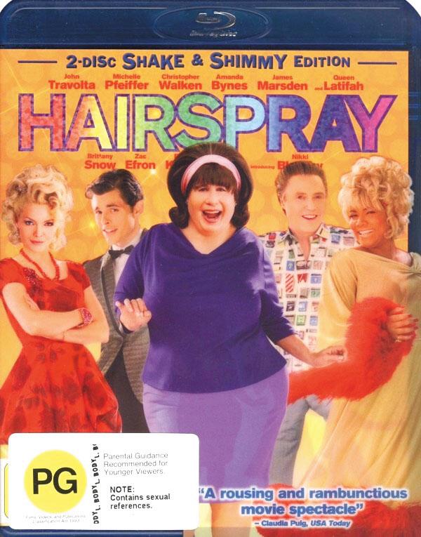 Hairspray (2 Disc Set) on Blu-ray image