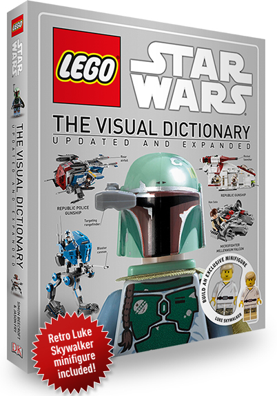 Lego Star Wars: The Visual Dictionary (Updated & Expanded, incl Minifigure!) by DK image
