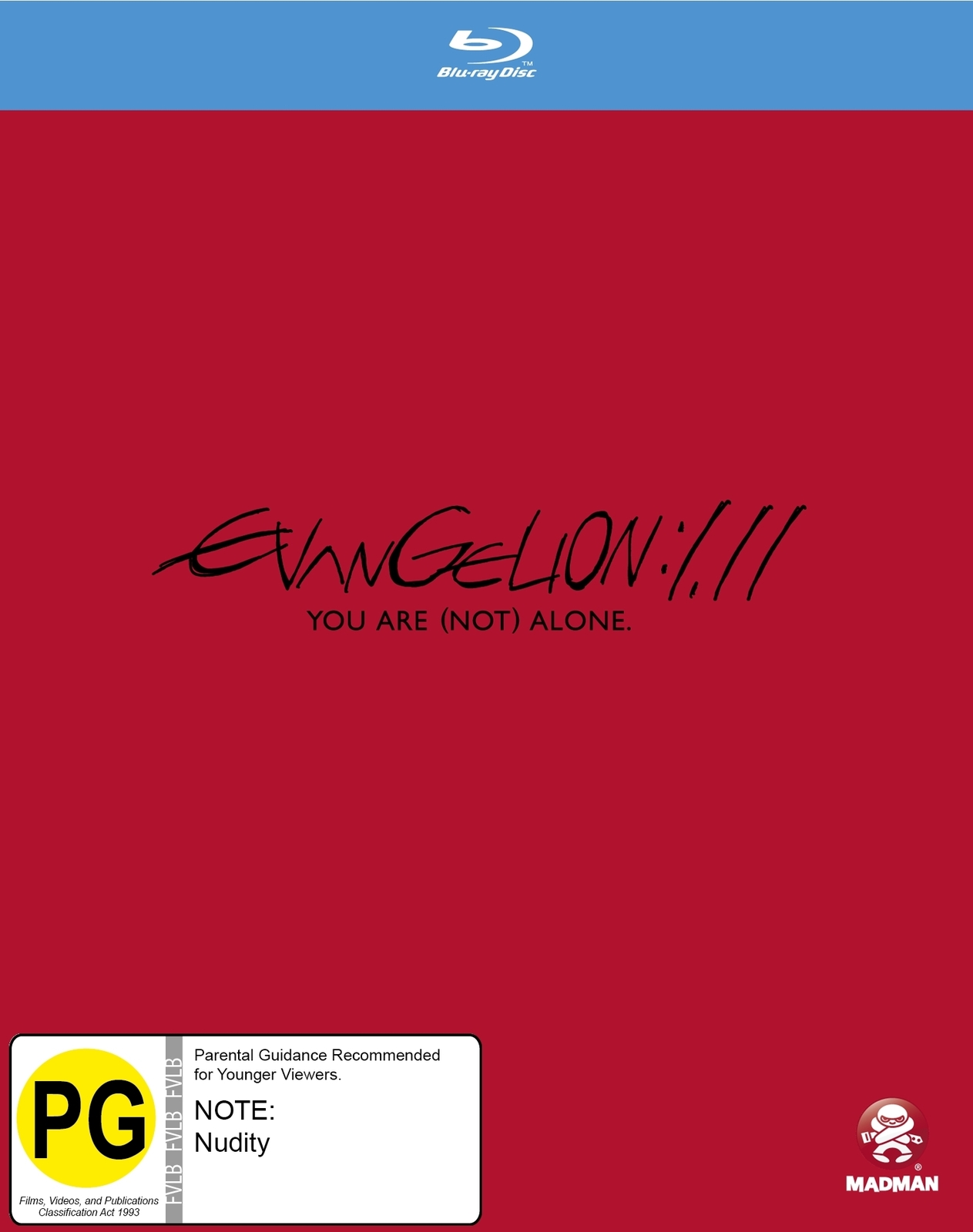 Evangelion: 1.11 You Are (not) Alone [Slipcase Edition] on Blu-ray image
