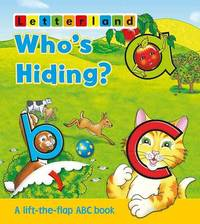 Who's Hiding ABC Flap Book by Lyn Wendon image