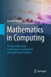 Mathematics in Computing by Gerard O'Regan