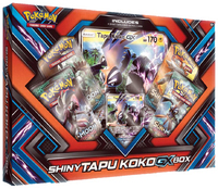 Pokemon TCG Shiny Tapu Koko GX Box image