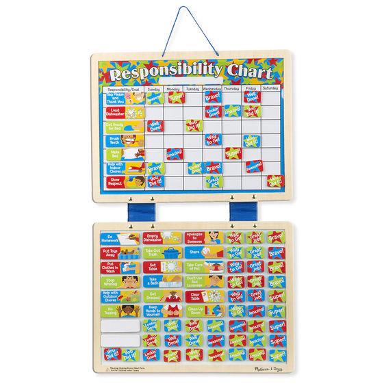 Melissa & Doug: Magnetic Responsibility Chart