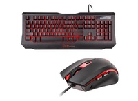 ThermalTake Knucker Elite Multicolor Keyboard and Mouse Combo for PC Games