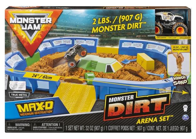 """Monster Jam: Monster Dirt Arena - 24"""" Monster Dirt Playset"""