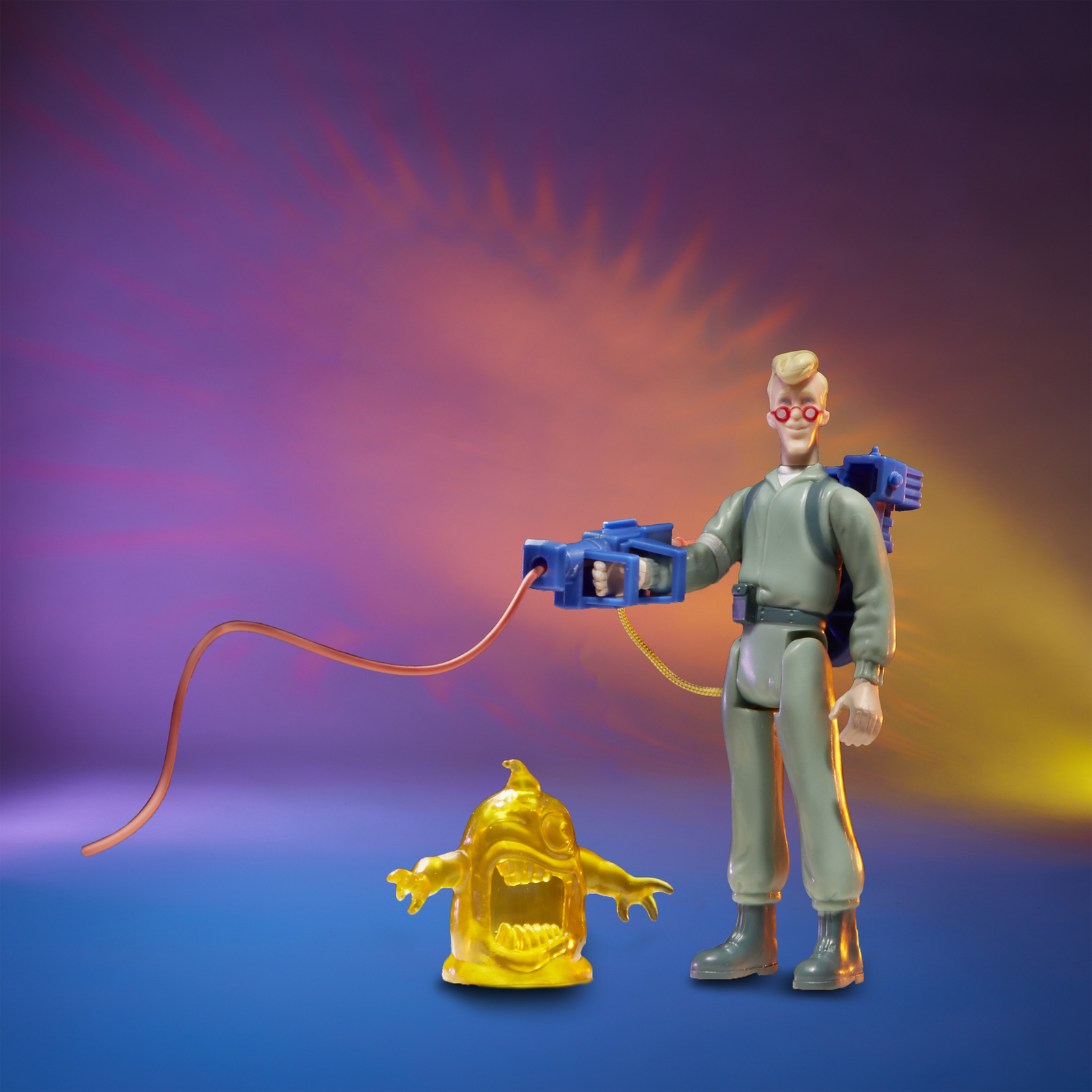 Ghostbusters: Kenner Classics - Egon Spengler and Gulper Ghost image