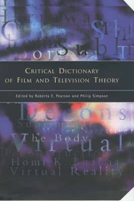 Critical Dictionary of Film and Television Theory image