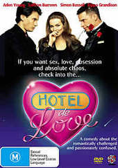 Hotel De Love on DVD