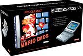 Game Boy Advance SP Platinum + NES Classic: Super Mario Bros for Game Boy Advance