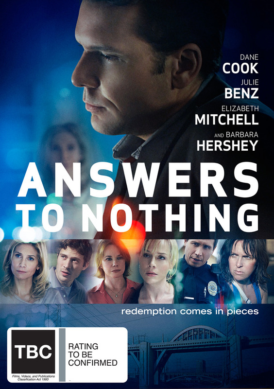 Answers To Nothing on DVD