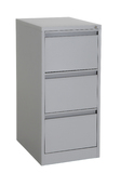 Proceed Lockable Filing Cabinet 3 Drawer - Grey