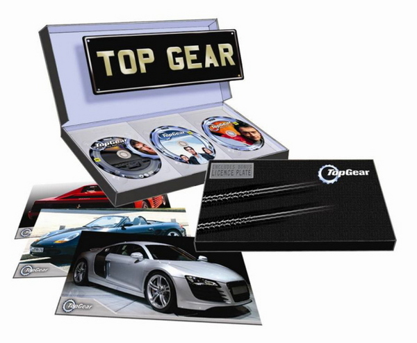 Top Gear Deluxe Collector's Box Set :- Back in the Fast Lane / Revved Up / Winter Olympics on DVD image