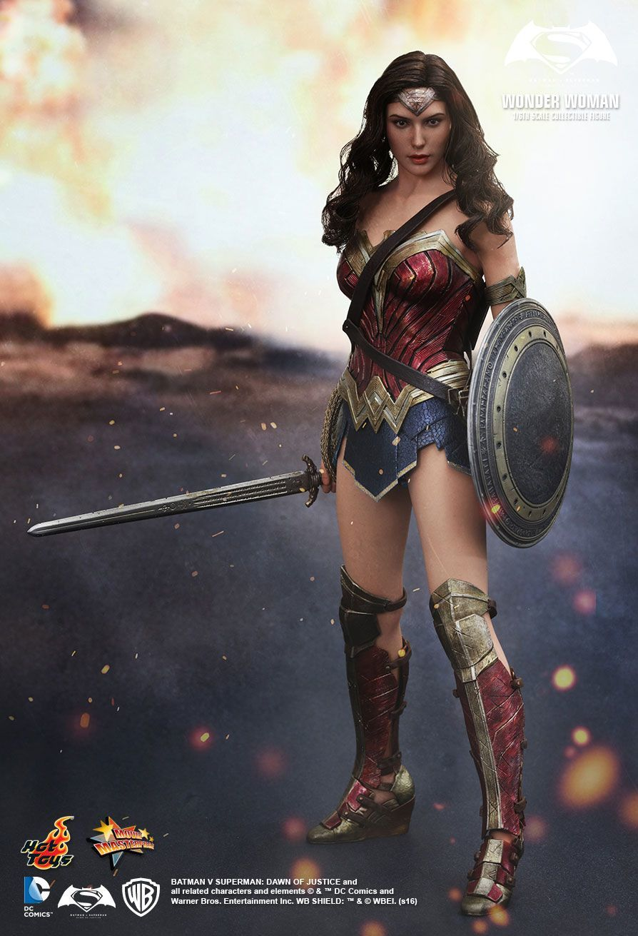 "Batman vs Superman - Wonder Woman 12"" Figure image"