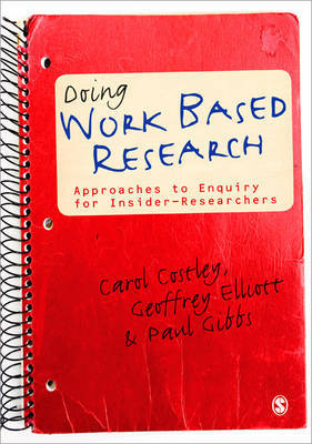 Doing Work Based Research by Carol Costley image