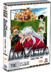 InuYasha - Vol. 34 on DVD