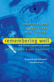 Remembering Well by Delys Sargeant
