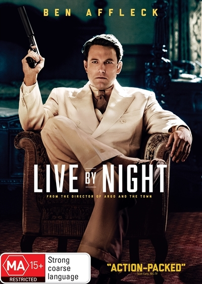 Live By Night on DVD