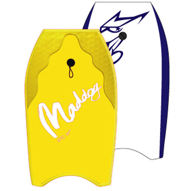 "Maddog: Epic - 41"" Bodyboard (Yellow)"