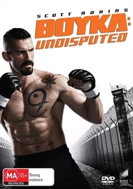 Boyka: Undisputed on DVD