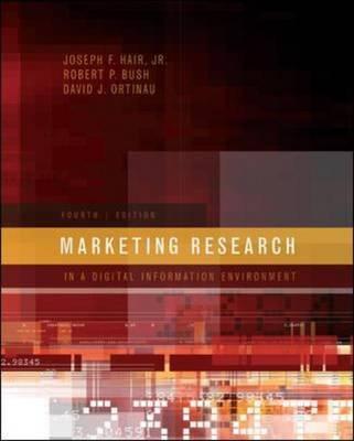 Marketing Research by Joseph F Hair