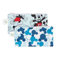 Bumkins Small Snack Bag - Mickey Mouse (2 Pack)