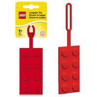 LEGO Luggage Tag Red Brick