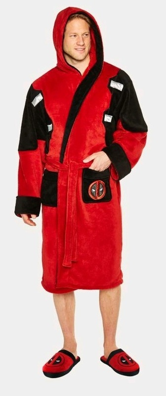 Marvel: Hooded Bathrobe - Deadpool