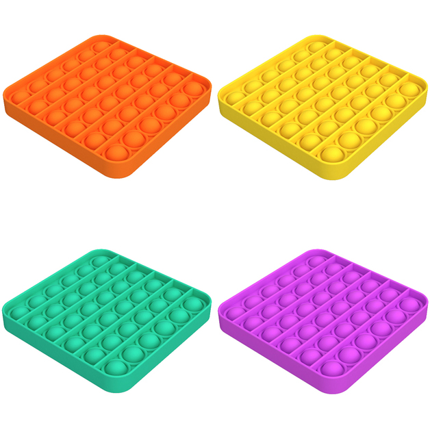 Popit: Fidget Toy - Square (Assorted)