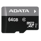 64GB ADATA Premier - MicroSDXC Card (Class 10 UHS-I)
