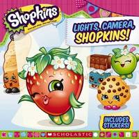 Shopkins: Lights, Camera, Shopkins! by Meredith Rusu