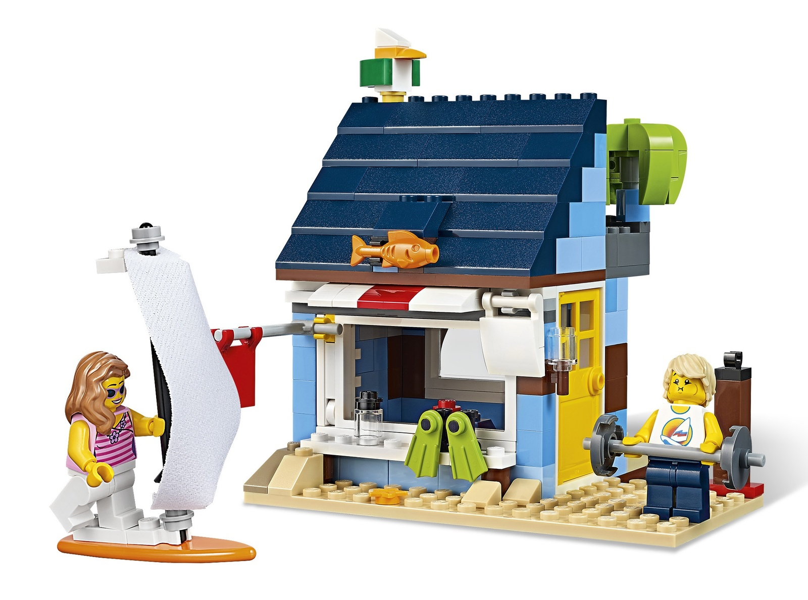 Lego Creator Beachside Vacation 31063 Toy At Mighty