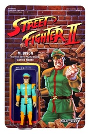 "Street Fighter II: M. Bison - 3.75"" CE Retro Action Figure image"