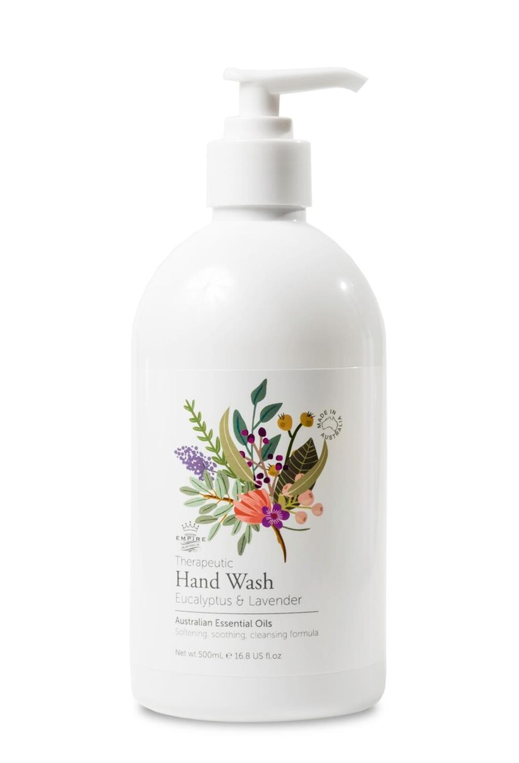 Empire Therapeutic Series - Eucalyptus & Lavender Hand Wash (125ml) image