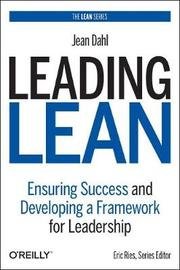Leading Lean by Jean Dahl